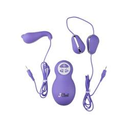 Valentine paarse vibrator set