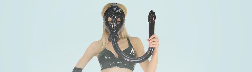 dildo gasmasker