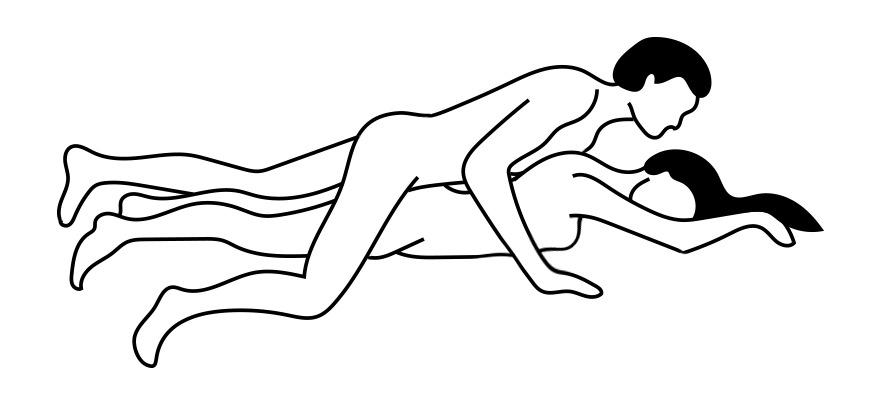 Hete brunette anale porno