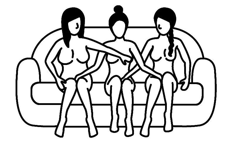 beste sex posities voor een trio