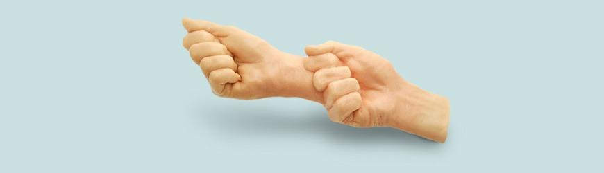 Double fist dildo